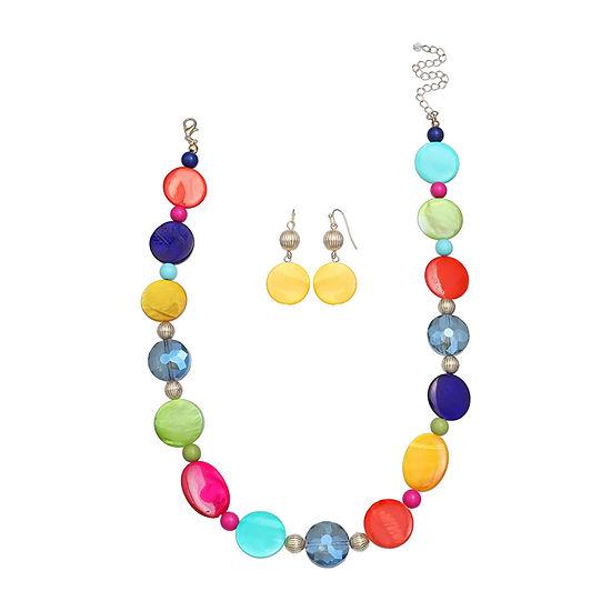 Mixit Multi Color 2-pc. Jewelry Set