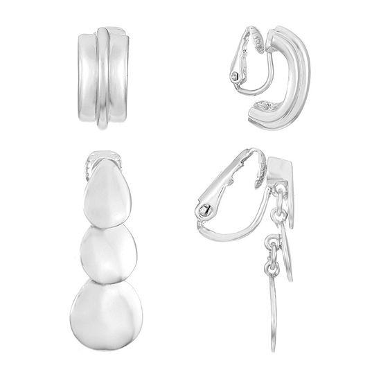Liz Claiborne 2 Pair Earring Set