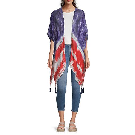 Mixit Womens 3/4 Sleeve Kimono