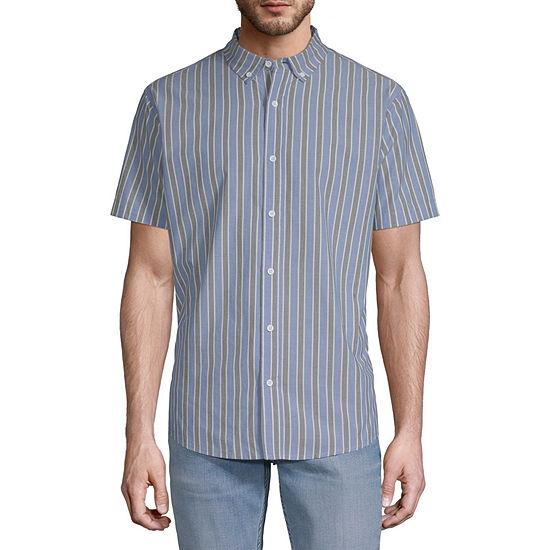 Levi's Mens Short Sleeve Button-Front Shirt