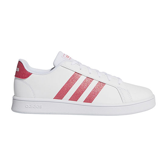 adidas Grand Court Big Kids Girls Sneakers