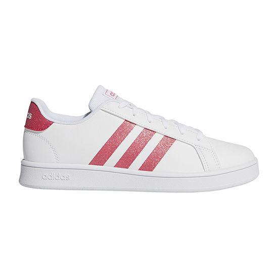 adidas Grand Court Little Kids Girls Sneakers