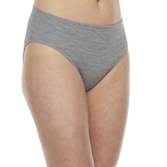 Flirtitude Ribbed Seamless 1 Pair Bikini Panty J3214