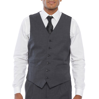 Stafford Super Mens Classic Fit Suit Vest - Big and Tall