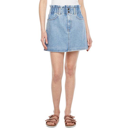 Arizona - Juniors Womens Paperbag Skirt