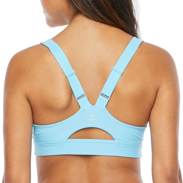 Xersion Move Medium Support Racerback Sports Bra