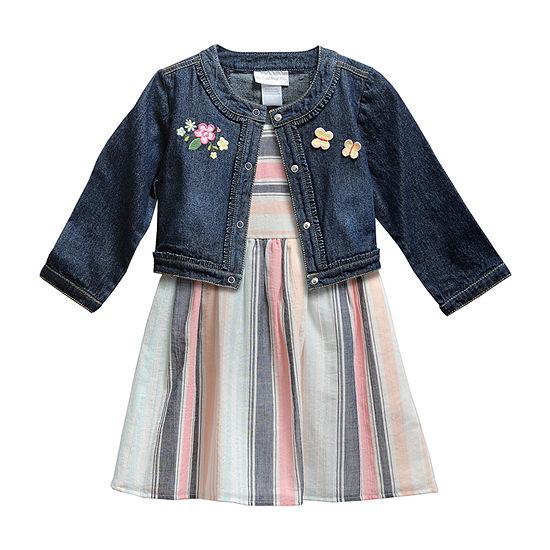 Youngland Little Girls 2-pc. Jacket Dress