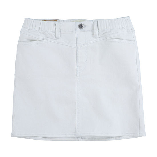 Levi's Big Girls High Rise Denim Skirt