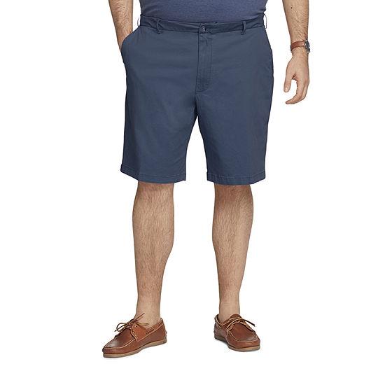 IZOD Saltwater Mens Stretch Chino Short-Big and Tall