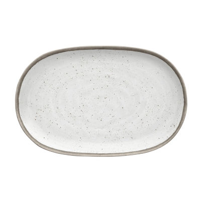 Tarhong Retreat Pottery Bamboo Serving Platter