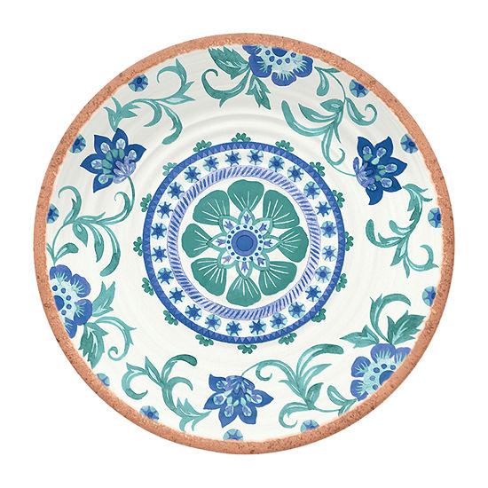 Tarhong Rio Floral 6-pc. Salad Plate