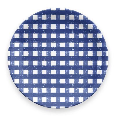 Tarhong Homemade Gingham 4-pc. Dinner Plate