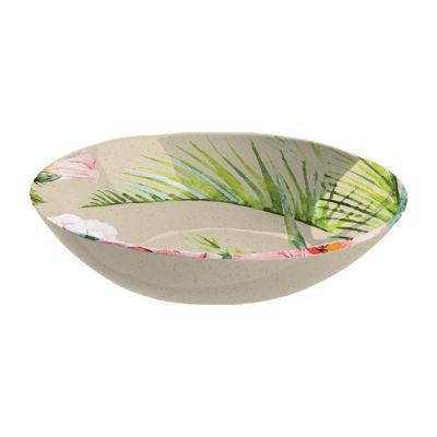 Tarhong Palermo Tropical Bamboo Serving Bowl