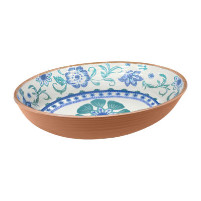 Tarhong Rio Floral Serving Bowl