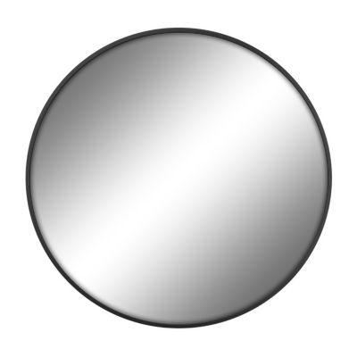 """30"""" Round Black Mirror"""