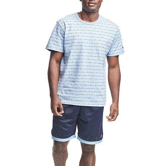 Champion Mens Crew Neck Short Sleeve Graphic T-Shirt