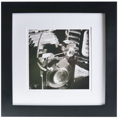 """Gallery Solutions 8x8"""" Matted Picture Frame"""
