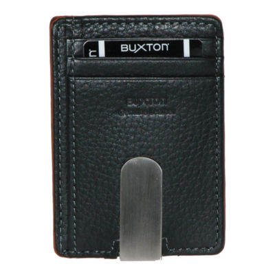 Buxton rfid front pocket wallet w money clip jcpenney for True frequency jewelry reviews