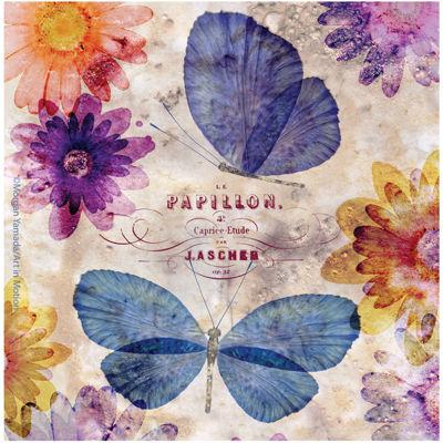 Thirstystone® Fleur de Papillon Set of 4 Coasters