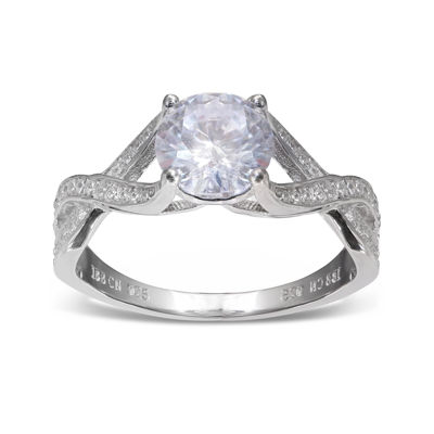 Silver Enchantment™ Cubic Zirconia Sterling Silver Infinity Ring