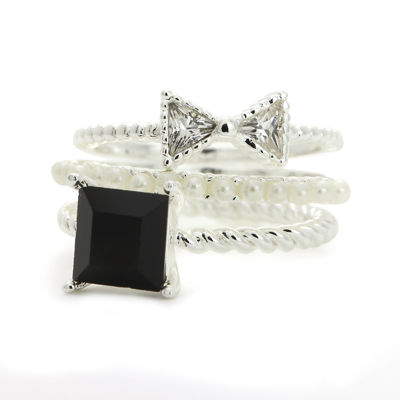 the skinny® 3-pc. Stackable Rings