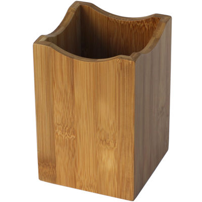 Oceanstar Bamboo Cooking Utensil Holder