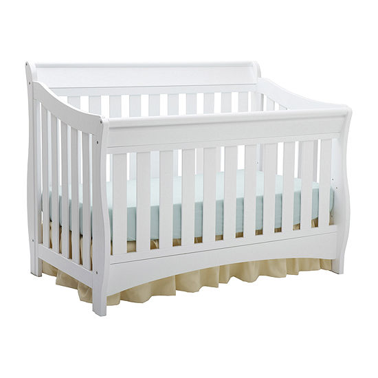 Delta Children's Products™ Bentley 'S' Series 4-in-1 Crib - White