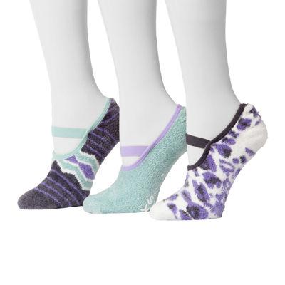 MUK LUKS® 3-pk. Aloe Mary Jane Socks