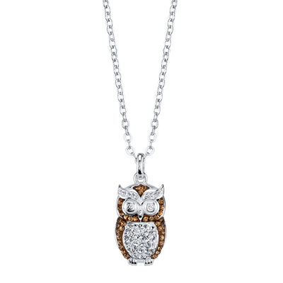 Crystal Sophistication™ Crystal Owl Necklace Pendant