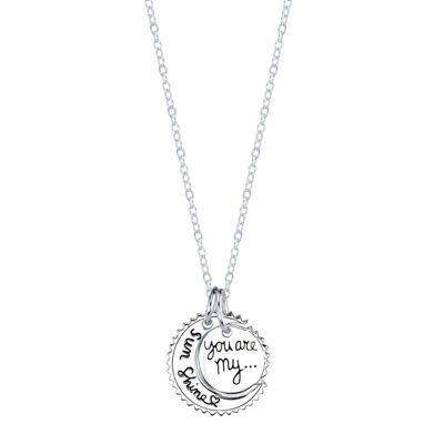 Crystal Sophistication™ Sterling Silver Pendant