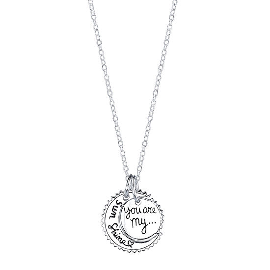 Crystal Sophistication™ Sterling Silver Pendant