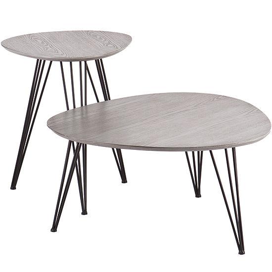 Holly & Martin Bannock 2-pc. Table Set