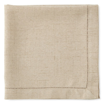 JCPenney Home® Brighton Hemstitch Set of 4 Napkins