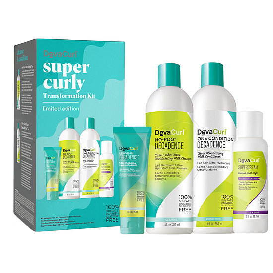 DevaCurl How to Quit Shampoo Super Curly Kit