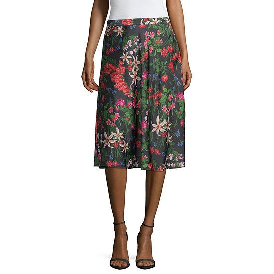 Liz Claiborne Flare Skirt - Tall