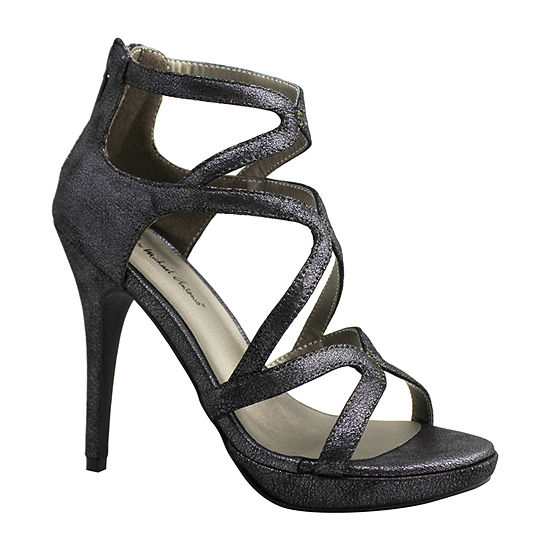 Michael Antonio Womens Riot-Met2 Heeled Sandals