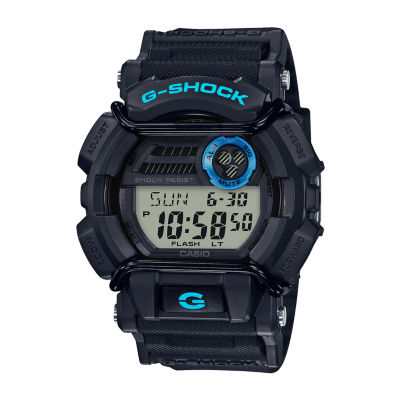 Casio Mens Black Strap Watch-Gd400-1b2