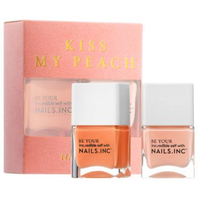 NAILS INC. Kiss My Peach Duo Nail Set
