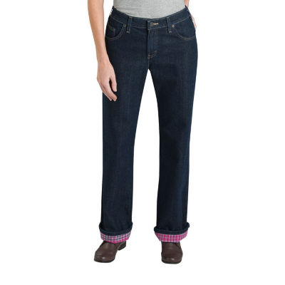 Dickies® Relaxed Straight Flannel Lined Jean