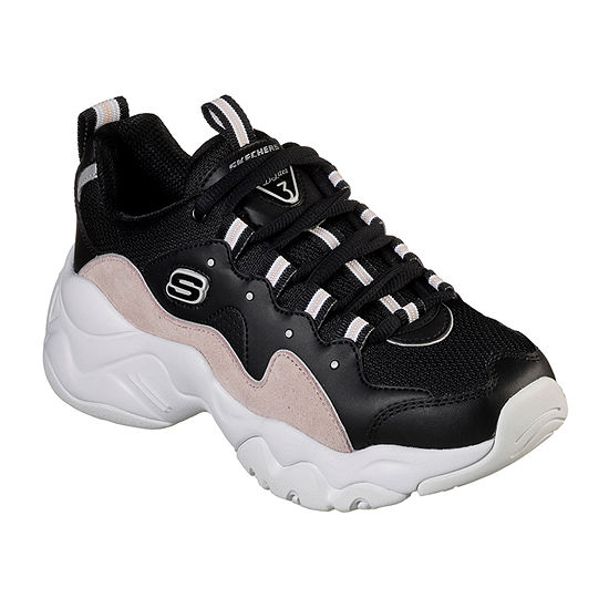 Skechers Dlites Womens Sneakers Lace-up