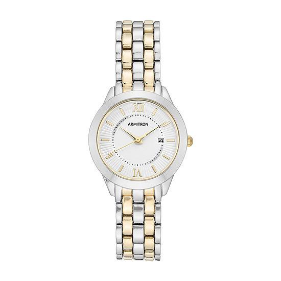 Armitron Womens Silver Tone Bracelet Watch - 75/5741svtt