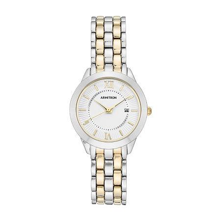 Armitron Womens Silver Tone Bracelet Watch - 75/5741svtt, One Size