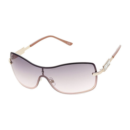 a.n.a Metal Shield Womens Sunglasses