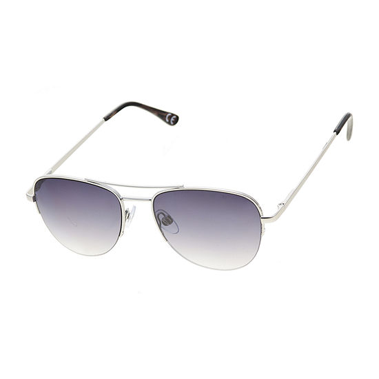 a.n.a Semi-Rimless Aviator Womens Sunglasses