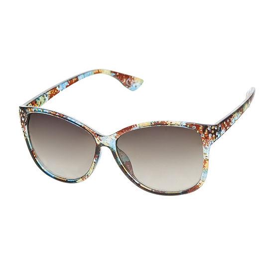 a.n.a Peacock Tort Wayfarer Womens Sunglasses