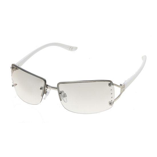 Mixit Rimless Rectangle Womens Sunglasses