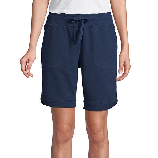 "St. John's Bay Womens 10"" Bermuda Short-Tall"