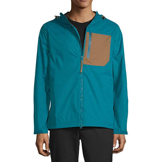 Xersion Mens Outdoor Hooded Lightweight Raincoat