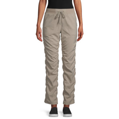 St. John's Bay Womens Mid Rise Straight Pull-On Pants