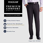 Haggar Premium Comfort Straight Fit Flat Front Dress Pant